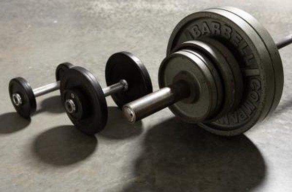 健身室器材啞鈴